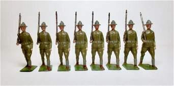 Britains Set 227 US Infantry Doughboys