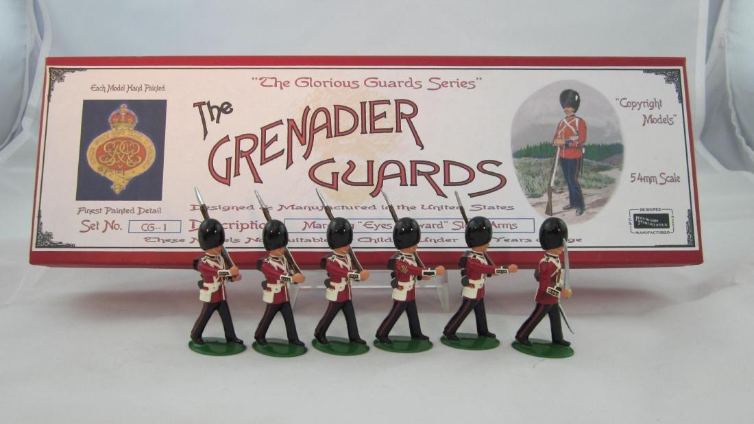 Nickolson Miniatures Set #GG1 Grenadier Guards