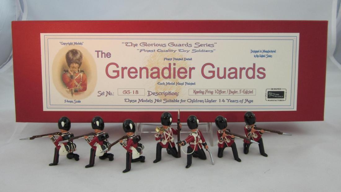 Nickolson Miniatures Set #GG18 Grenadier Guards