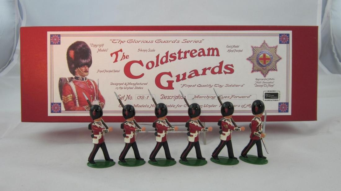 Nickolson Miniatures Set #CG1 Coldstream Guards