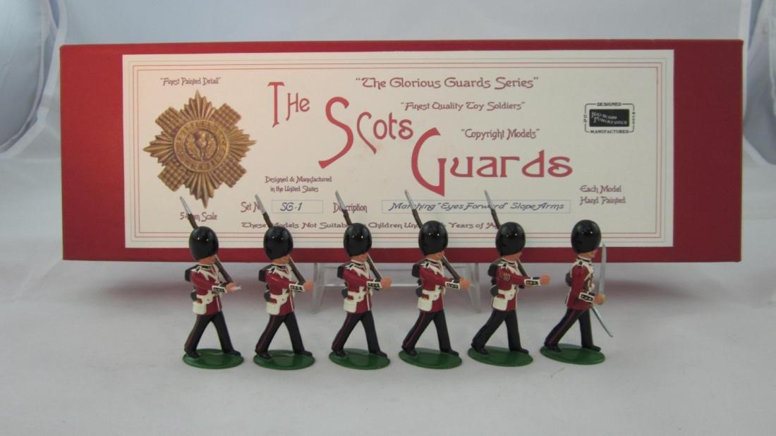 Nickolson Miniatures Set #SG1 Scots Guards