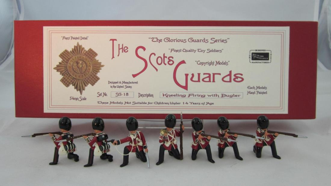 Nickolson Miniatures Set #SG18 Scots Guards