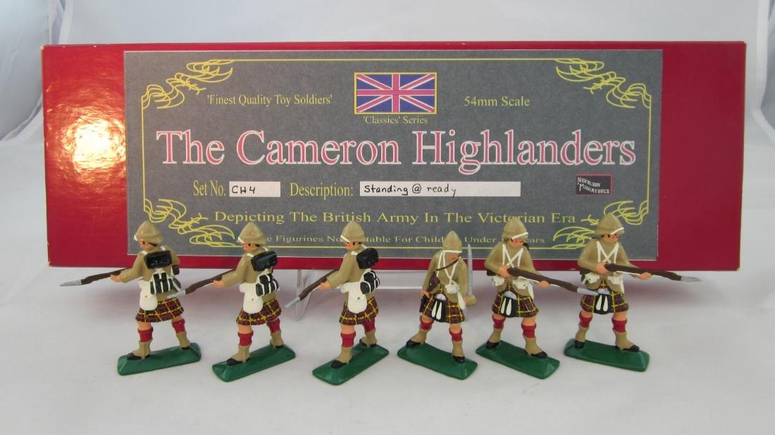 Nickolson Set #CH4 Cameron Highlanders