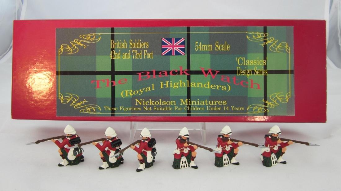 Nickolson Miniatures Set #BW1 Black Watch
