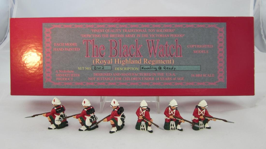 Nickolson Miniatures Set #BW2 Black Watch