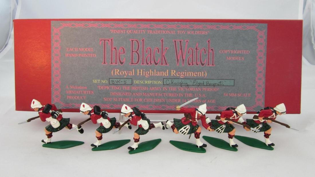Nickolson Miniatures Set #BW5 Black Watch
