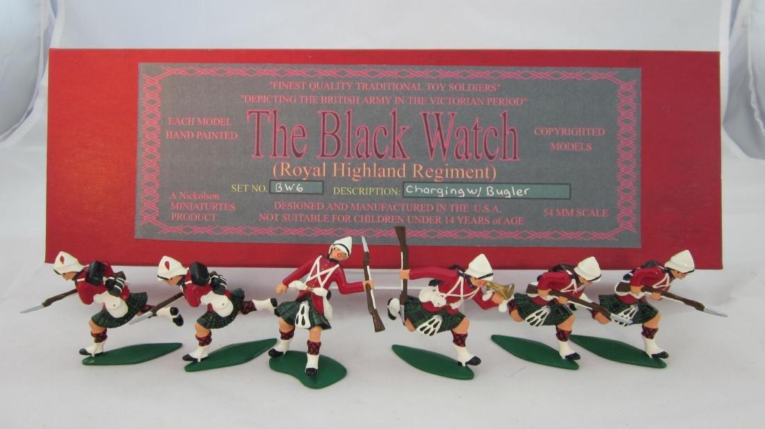 Nickolson Miniatures Set #BW6 Black Watch