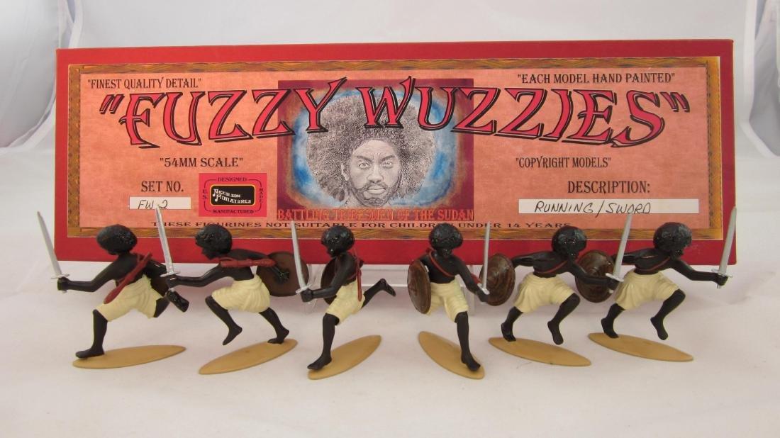 Nickolson Set #FW2 Fuzzy Wuzzies