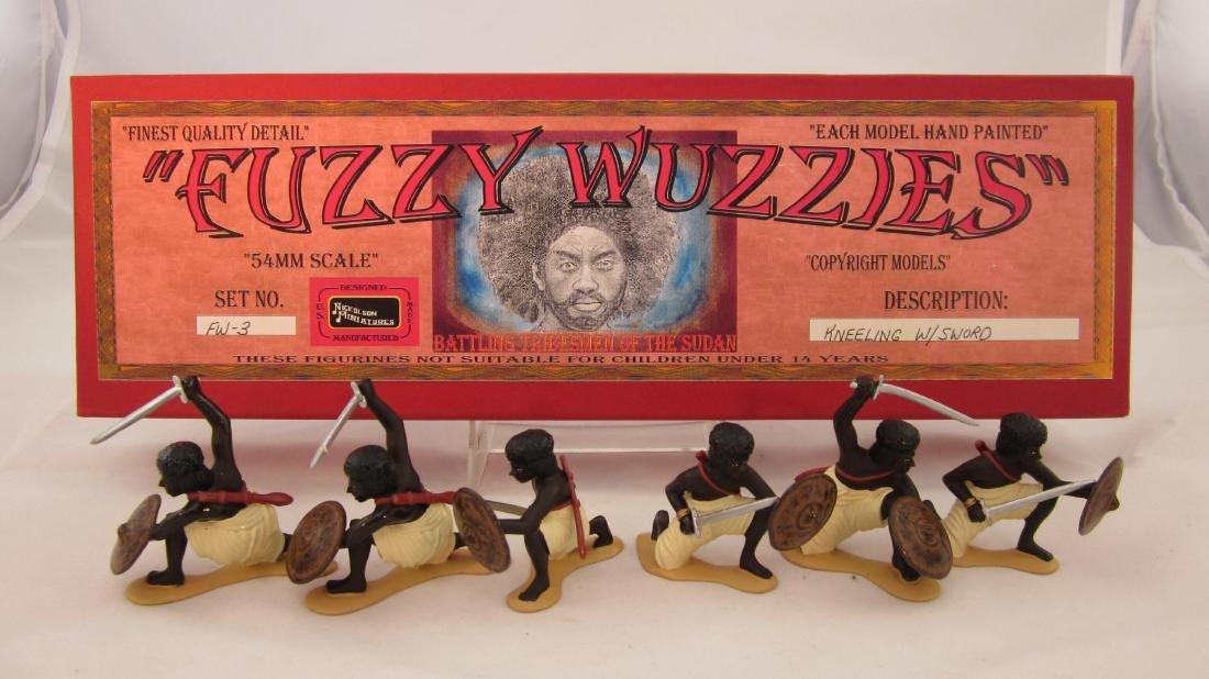 Nickolson Set #FW3 Fuzzy Wuzzies