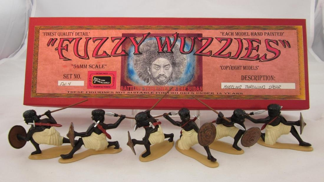 Nickolson Set #FW4 Fuzzy Wuzzies