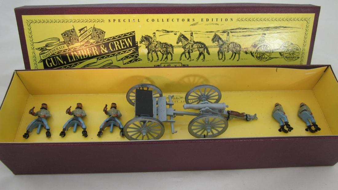 Britains Set #8874 Confederate Artillery Set