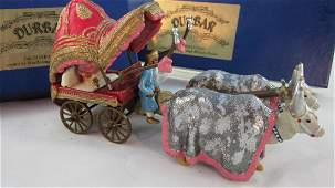 Marlborough Set D118 Prince in Bullock Cart