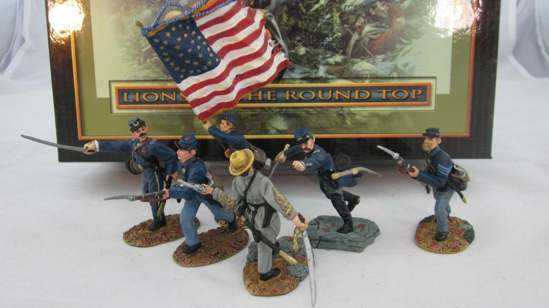 """Conte Set #59001 """"Lions of the Round Top"""""""
