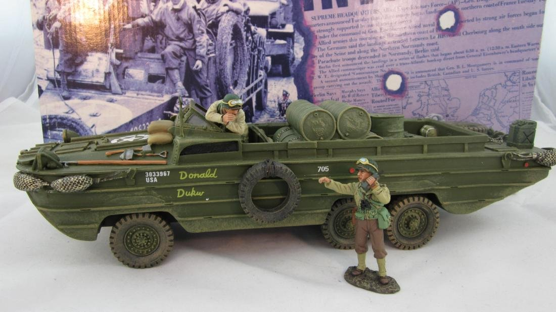 King & Country #DD063 U.S. Dukw with Crew