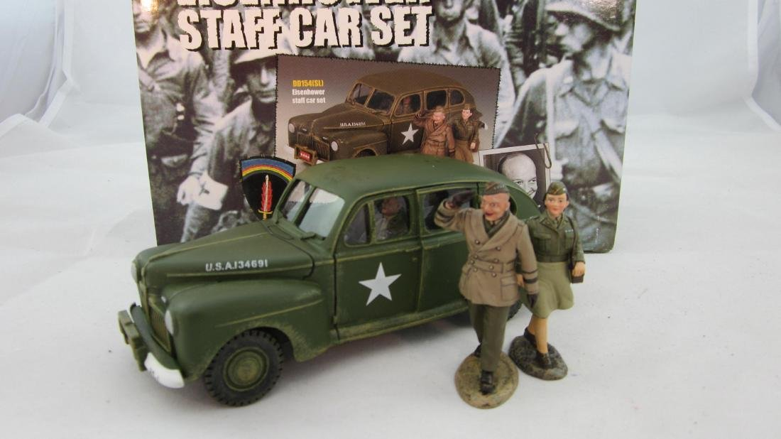 King & Country #DD154SL Eisenhower Staff Car