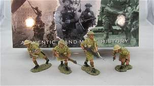 King  Country EA009 8th Army Infantry Patrol