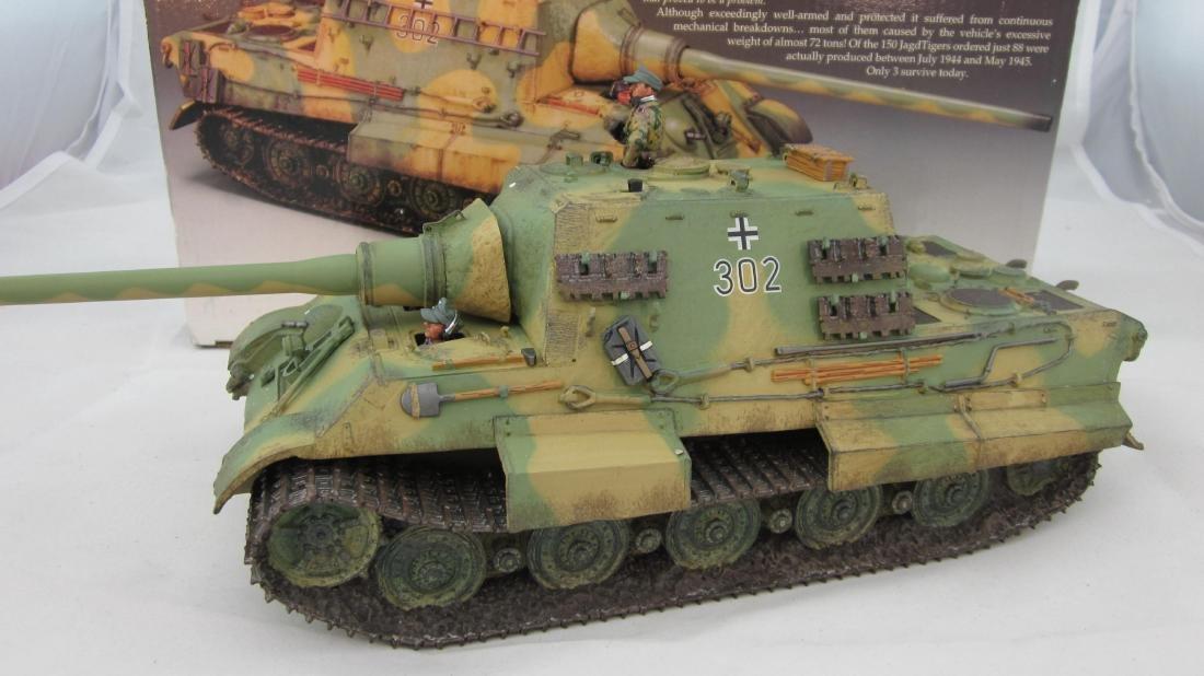 King & Country #WS180 Jadgtiger Tank & Crew