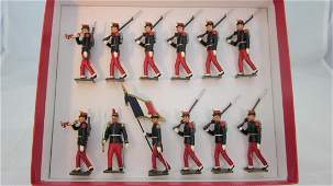 Mignot Set #59b French Infantry of the Line 1914