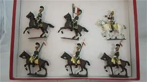 Mignot Set #219 French 1st Regiment of Light Horse
