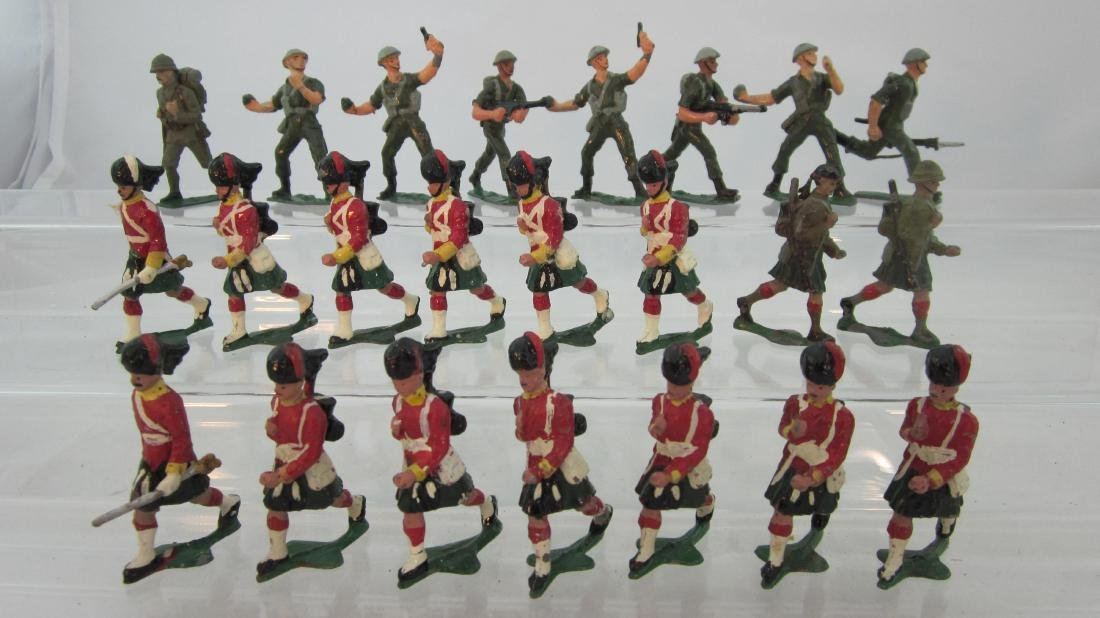 Authenticast Assorted British Troops