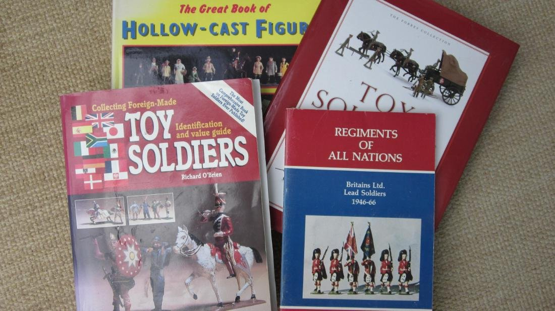 Assorted Toy Soldier Reference Books