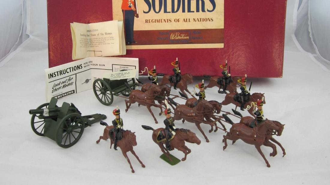 Britains Set #9419 Royal Horse Artillery, 1960s