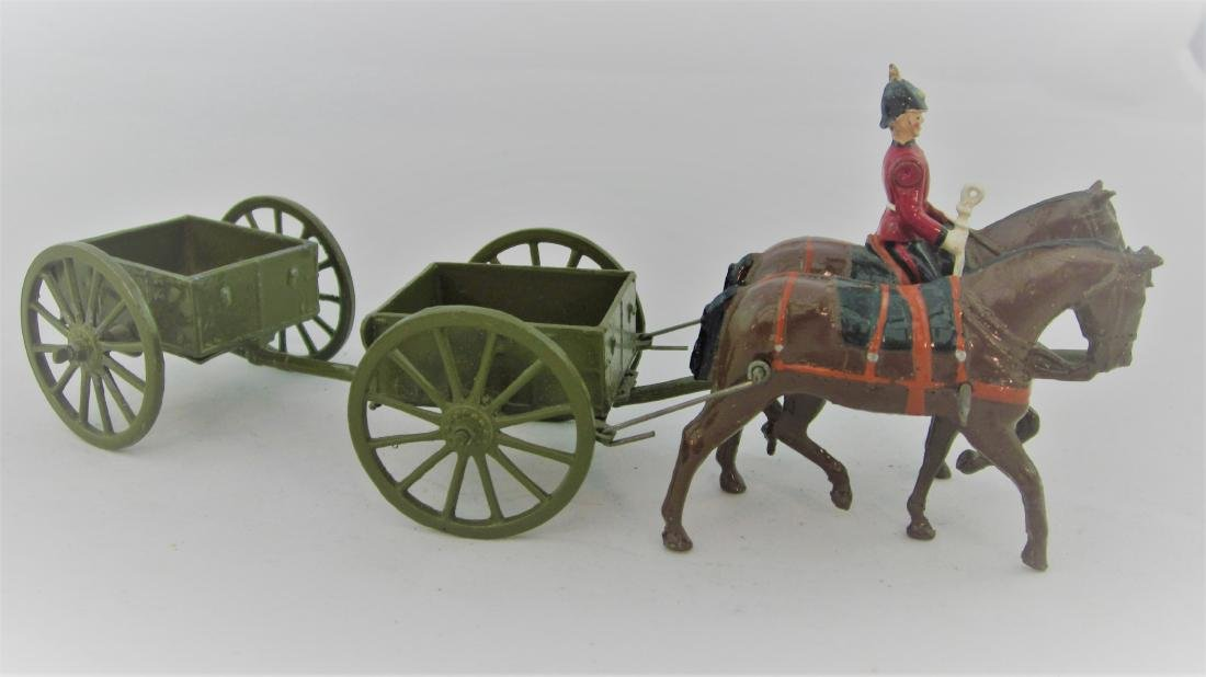 Britains Set #1330 Engineers Limbered Wagon
