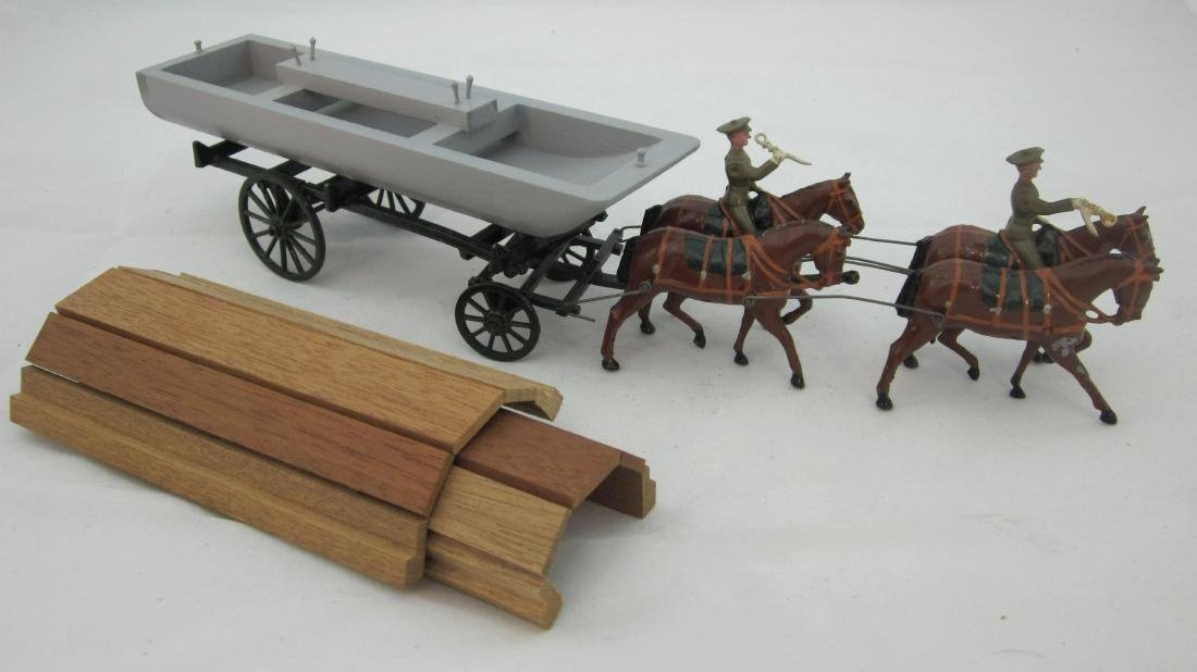 Britains Set #203A Service Dress Pontoon Wagon