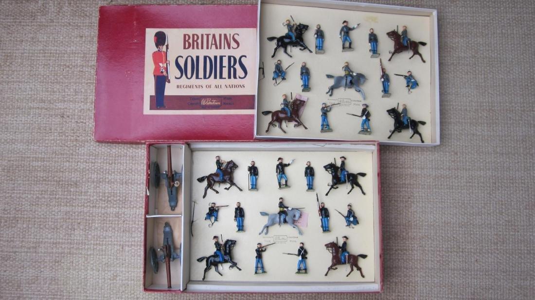 Britains Set #2070 Civil War 2 Tier Display Set