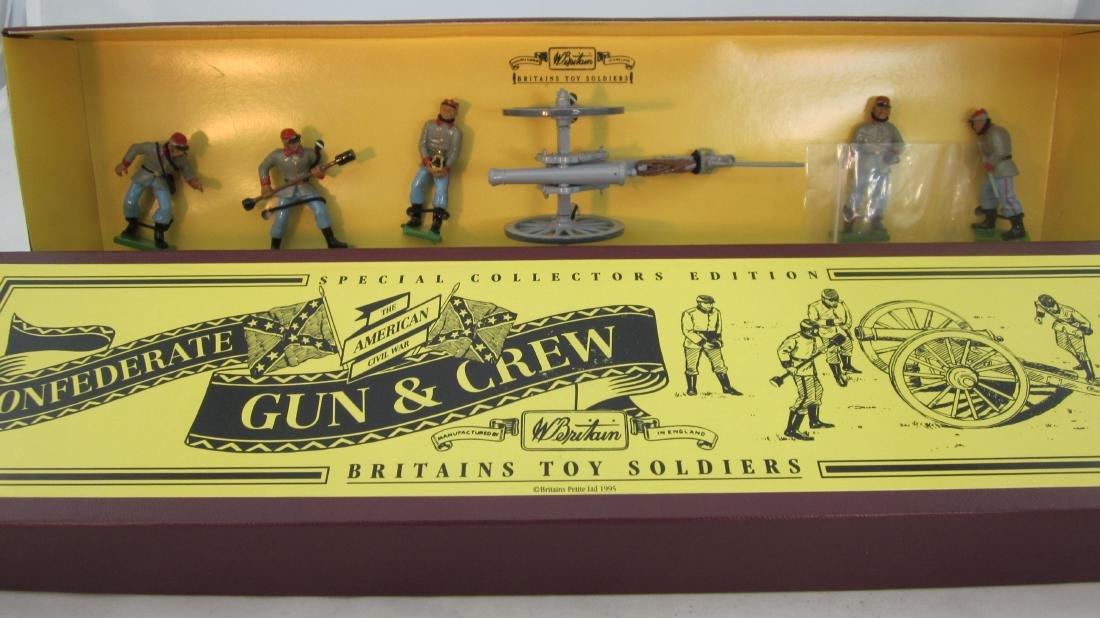 Britains Set #8876 Confederate Gun Team