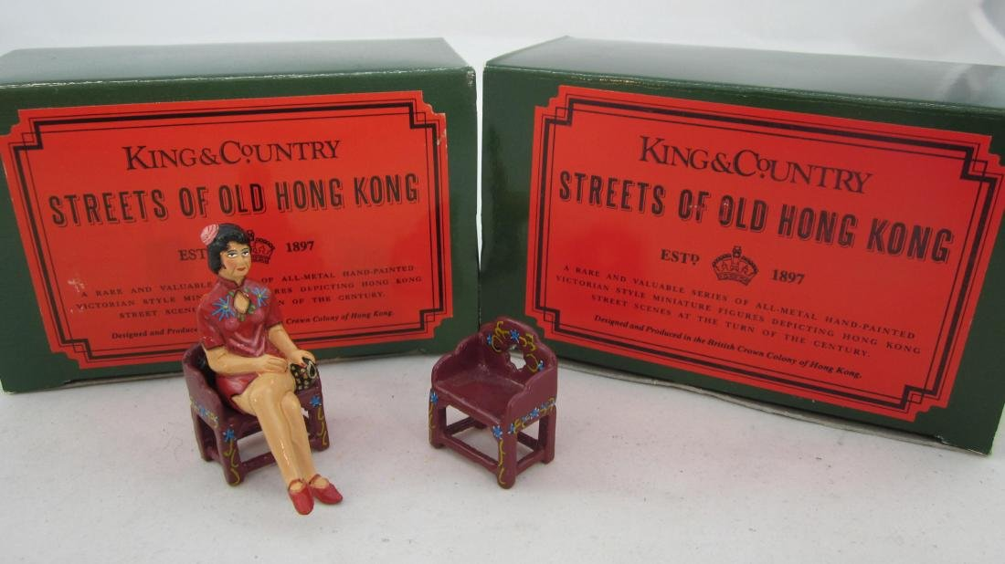 King & Country Set #31B Suzy Wong Sitting
