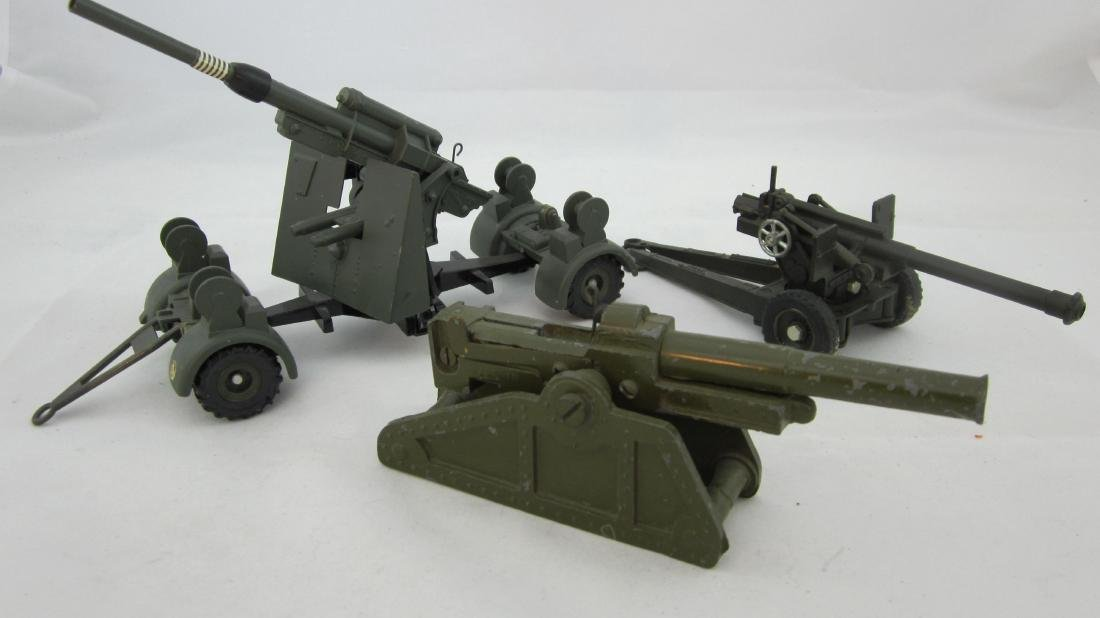 Dinky, Solido & Bullock Cannon Assortment