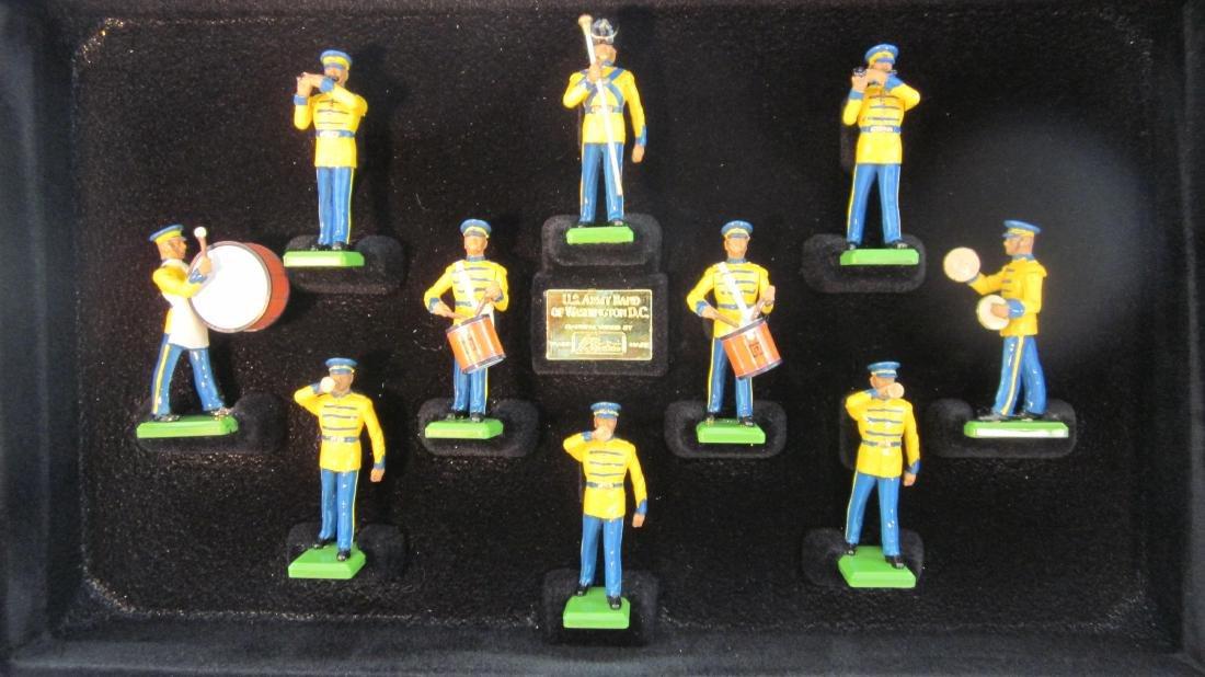 Britains Set #5391 Army Band of Washington DC