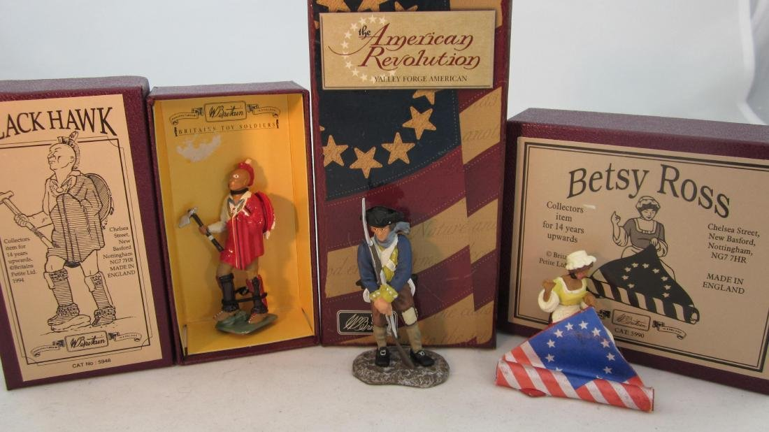 Britains Assorted Revolutionary War Sets