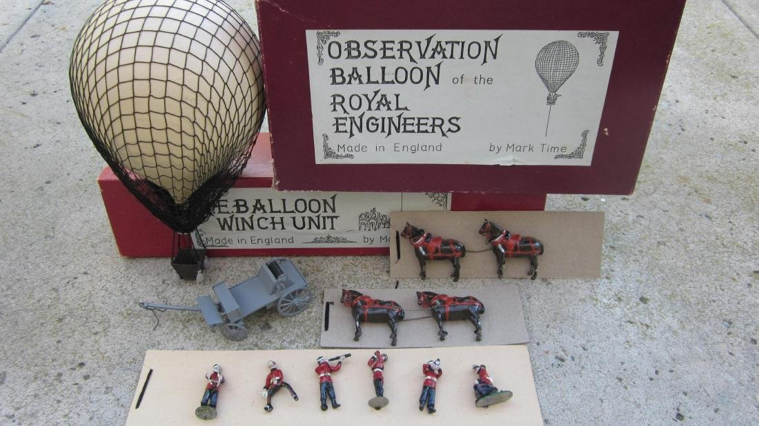 Marktime Royal Engineers Balloon & Winch