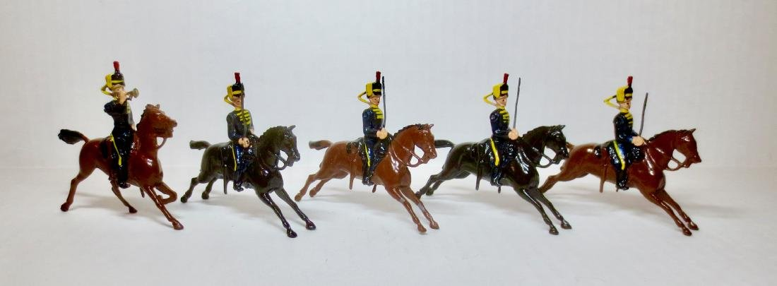 Britains Set #8 Fourth Queen's Own Hussars