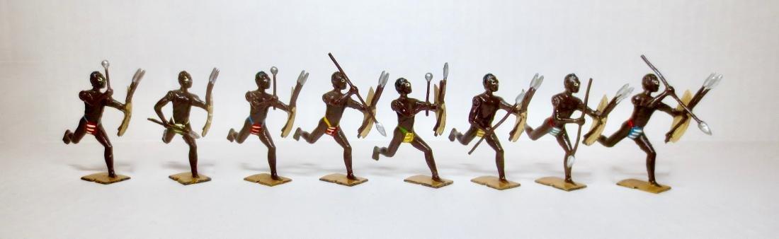 Britains Set #147 Zulus of Africa