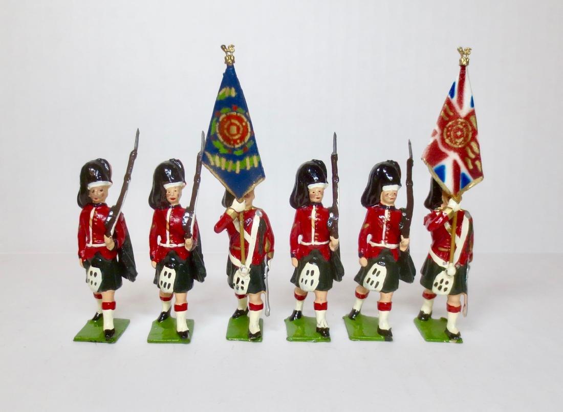 Britains Set #2111 Black Watch Colour Party