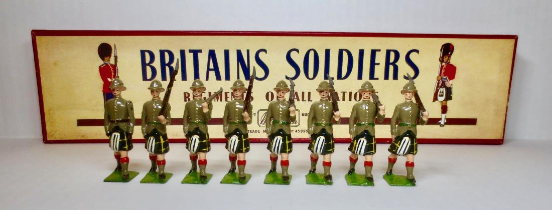 Britains Set #1901 The Capetown Highlanders