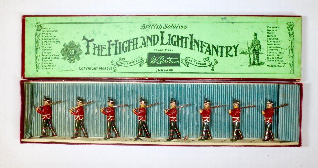 Britains Set #213 The Highland Light Infantry