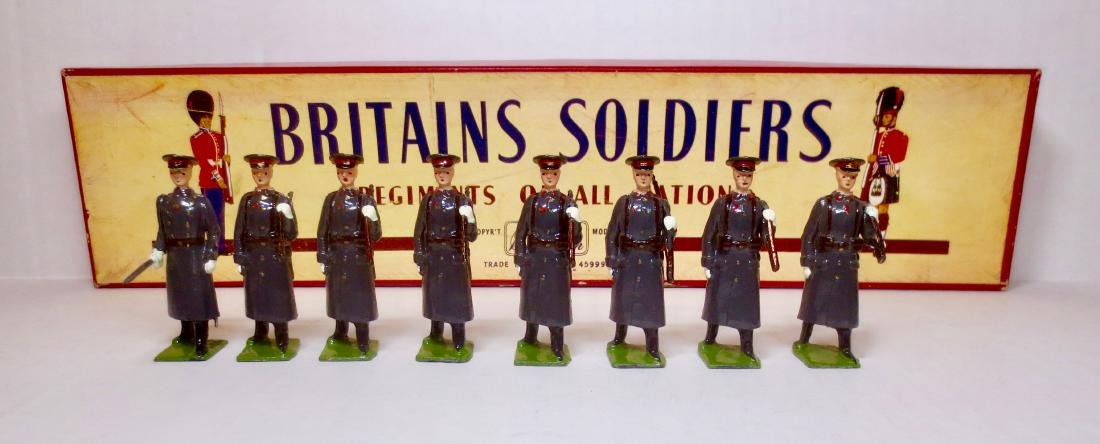 Britains Set #2027 Red Army Guards Infantry