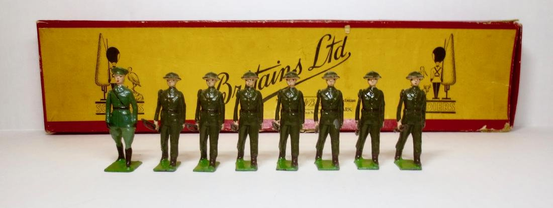 Britains Set #1603 Irish Free State Infantry