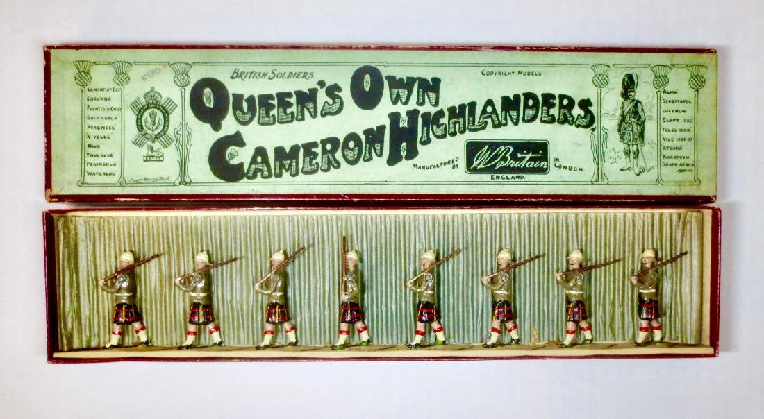 Britains Set #114 Queen's Own Cameron