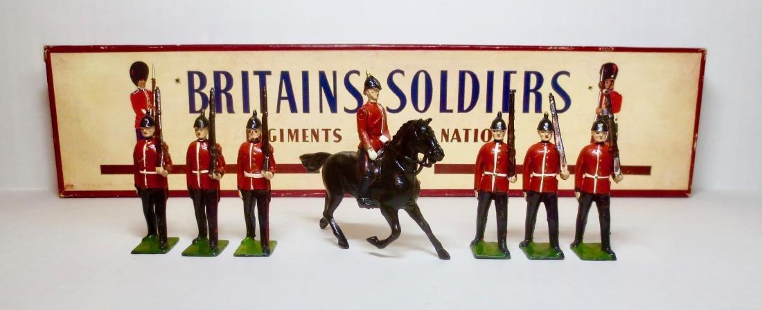 Britains Set #36 The Royal Sussex Regt.