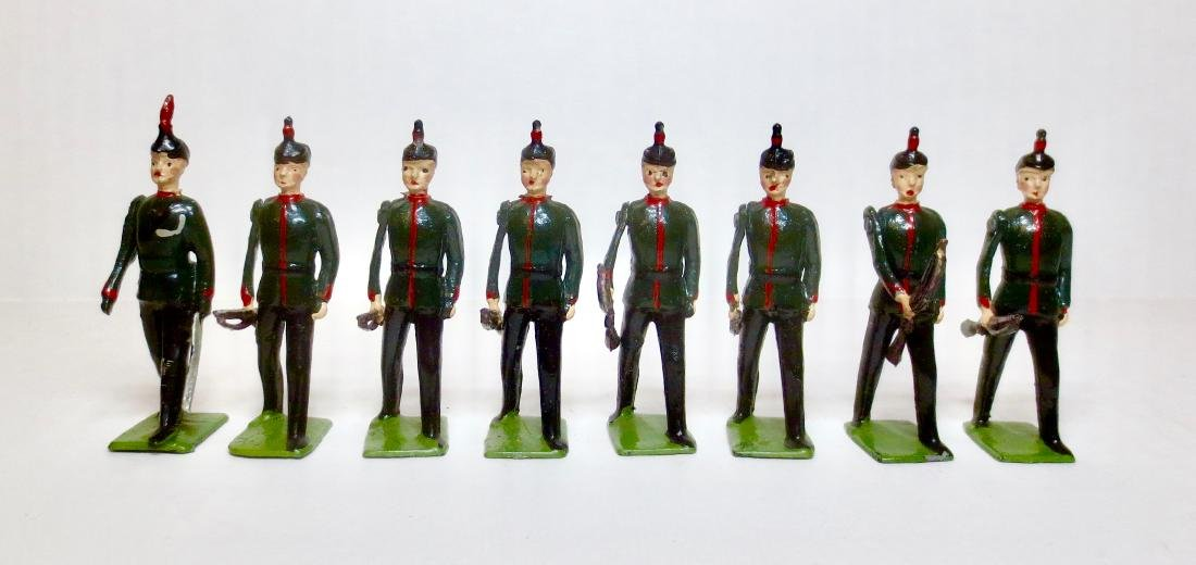 Britains Set #2072 King's Royal Rifle Corps