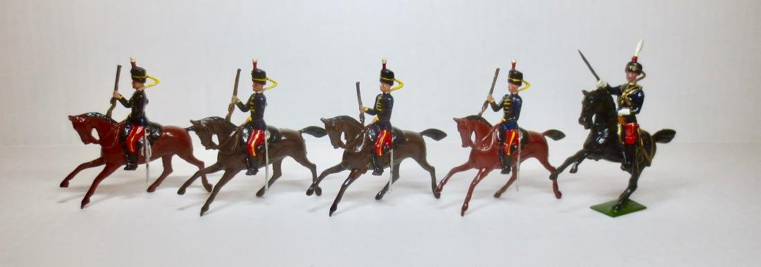 Britains Set #12 11th Hussars Prince Alberts Own