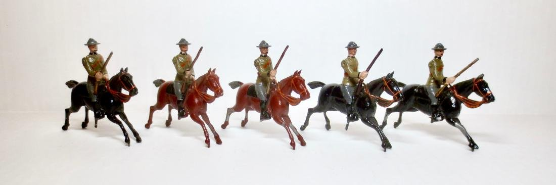 Britains Set #38 South African Mounted Infantry