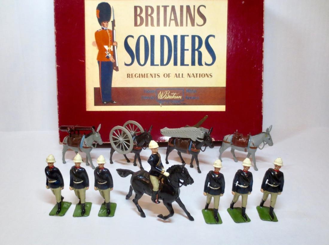 Britains Set #9420 Royal Mountain Artillery