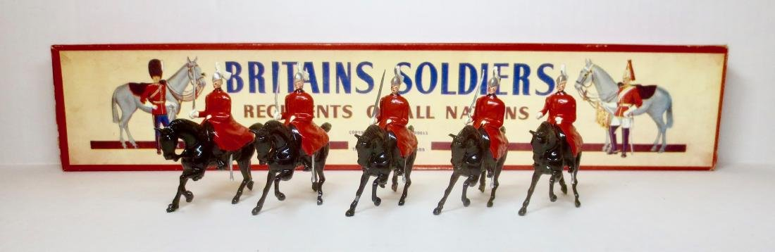 Britains Set #400 Life Guards in Winter Cloaks