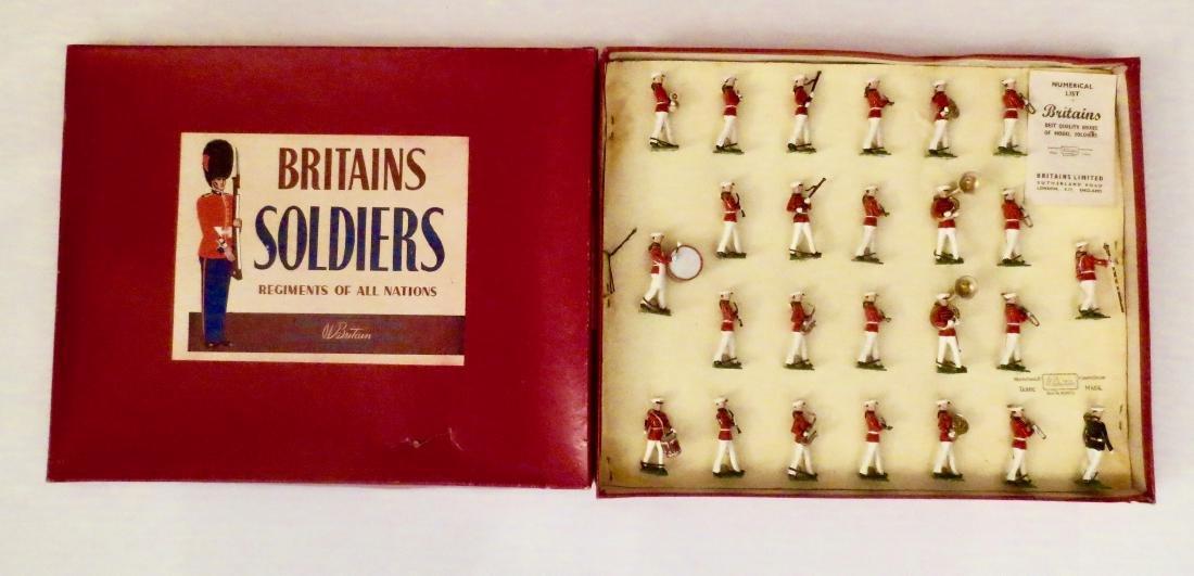 Britains Set #2112 Band of the U.S. Marine Corps